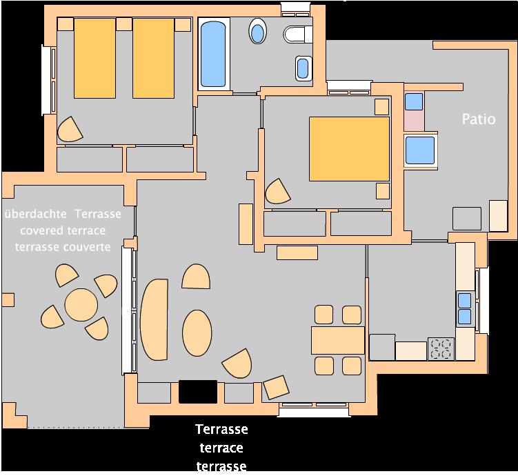 Casa Dorel - ground plan
